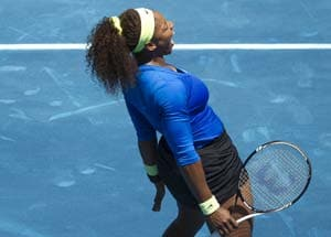 Serena Williams survives scare in Madrid to enter semis