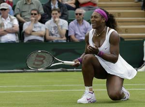 Film-fan Serena Williams yet to reflect on Wimbledon win