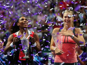 Serena Williams crowns 2012 with WTA Championships title