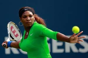 Serena reaches semis at Toronto tennis