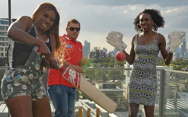 Howzzat! Williams sisters vs Murali-Finch