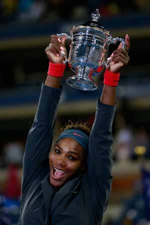 Serena Williams wins fifth US Open, 17th Slam title