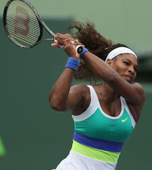 Serena Williams secures place in Madrid Open final