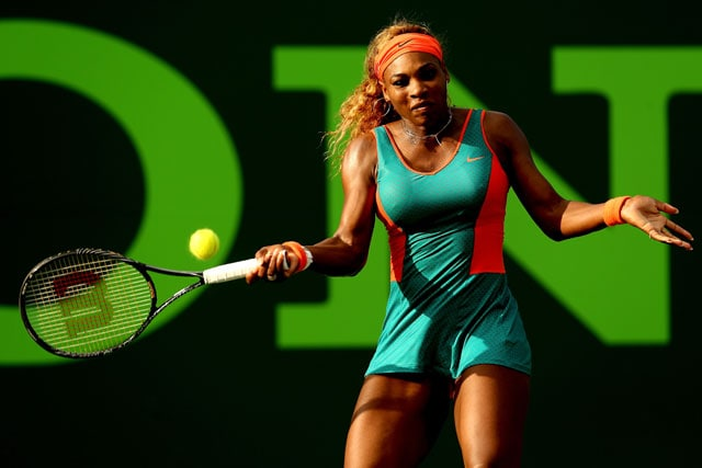 Miami Open: Serena Williams, Maria Sharapova through to third round