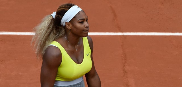 French Open: Defending Champion and World No.1 Serena Williams Ousted in Round 2