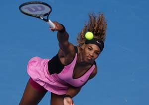 Top seed Serena Williams ice-cool in Melbourne heat
