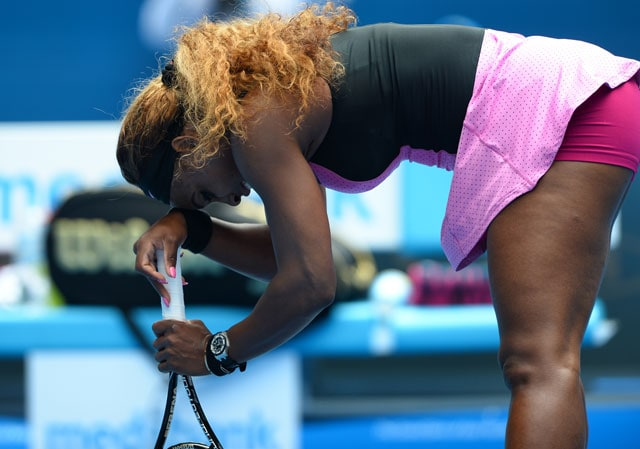 Australian Open: Top seed Serena Williams knocked out by Ana Ivanovic