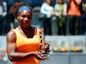 Serena Williams beats Maria Sharapova to retain Madrid Open