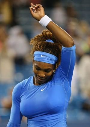 Serena Williams advances to Cincinnati quarters