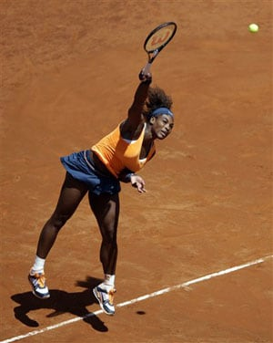 Serena Williams eases through to Italian Open final