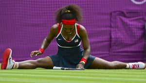 Olympics: Serena sweeps into second round
