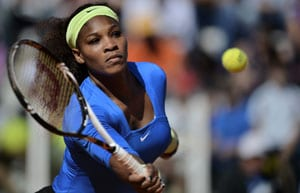 Sore back forces Serena to withdraw from Rome Masters