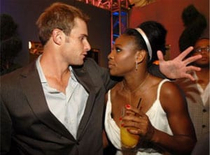 Serena to partner Roddick for mixed doubles