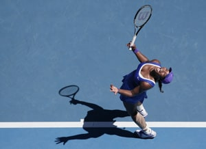 Serena blames her serves for shock defeat