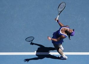 Serena blames her serves for shock defeat