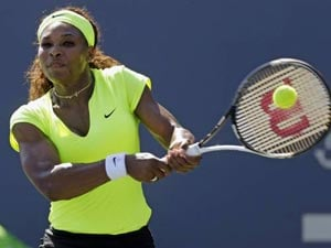Serena Williams sends off Nicole Gibbs at Stanford Classic