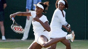 Serena and Venus Williams to play Monica Seles and Eugenie Bouchard in exhibition match