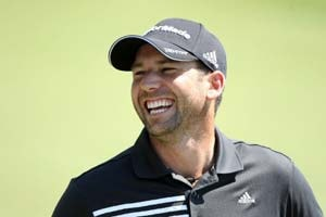 Sergio Garcia at home at Castello Masters