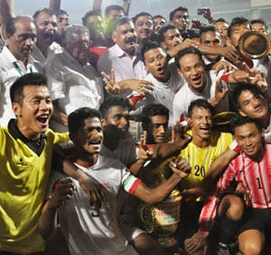 Services win Santosh Trophy