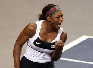 Serena Williams puts USA 2-0 up in Ukraine