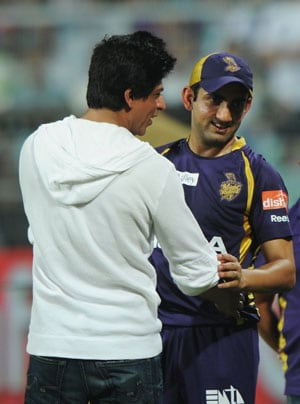 Gambhir is the finest skipper I have seen: Shah Rukh