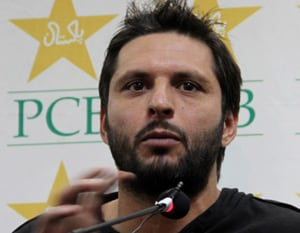 Heartbroken Afridi decides never to be captain again