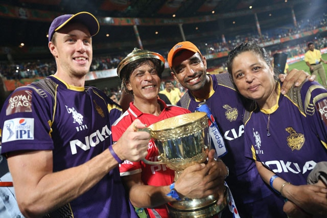 Kolkata Knight Riders Co-Owner Shah Rukh Khan Dedicates IPL Triumph to Youngest Son AbRam