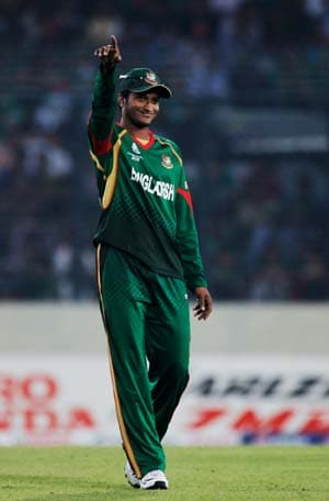 Bangladesh's Shakib Al Hasan punished for lewd gesture on TV, to miss two Asia Cup ties