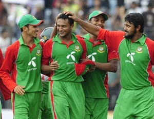 Shakib-al-Hasan takes top-spot in list of all-rounders