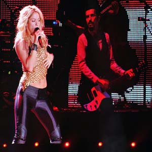 Shakira adds fireworks as Kiev opens Euro 2012 stadium