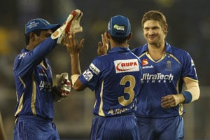 Shane Watson Claims Second Hat-Trick of Indian Premier League 2014