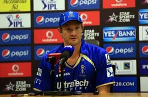 Rajasthan Royals captain Shane Watson takes blame for defeat against Chennai Super Kings
