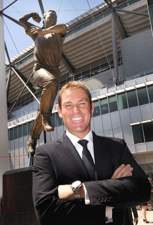 Warne inducted into Australian Cricket Hall of Fame