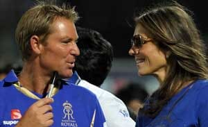 Shane Warne-Liz Hurley to call it quits?