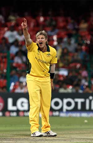 Watson gets first taste of Australian captaincy