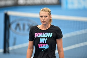 Australian Open: Maria Sharapova snubs waiter's 'selfie' request
