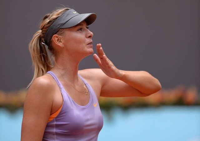 Madrid Masters: Maria Sharapova, Rafael Nadal and Serena Williams Advance to Quarters, Andy Murray Beaten