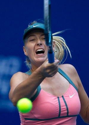 Rich? Me? Maria Sharapova scoffs at report on tennis earnings