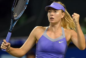 Maria Sharapova overcomes Heather Watson challenge