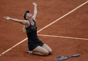 Maria Sharapova makes history with French Open win