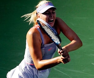 Sharapova mutes queries on her screams