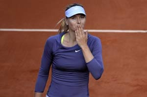 French Open 2013: Maria Sharapova books place in last eight
