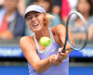 Maria Sharapova unsurprised by year-end withdrawals