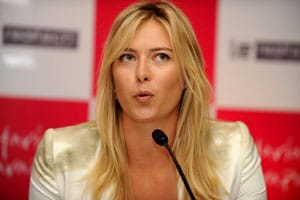 A date to remember with Maria Sharapova