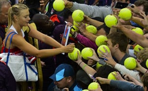 London 2012: Murray, Djokovic and Sharapova weather Wimbledon wash-out