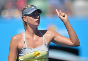 Miami WTA: Sharapova eases into third round