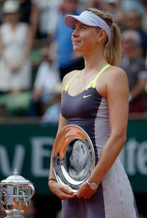 No regrets from Sharapova after French Open defeat