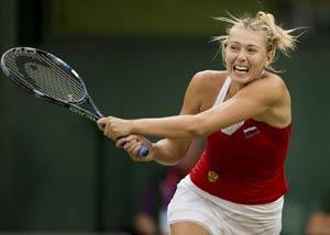 London 2012 Tennis: Sharapova earns revenge shot at Lisicki