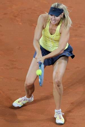 Sharapova turns focus to Wimbledon