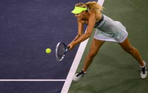 Maria Sharapova reaches Indian Wells final